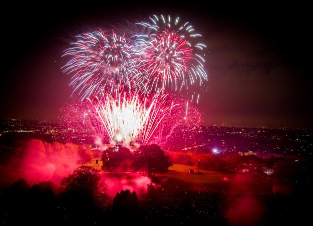 Ally Pally Fireworks 2019