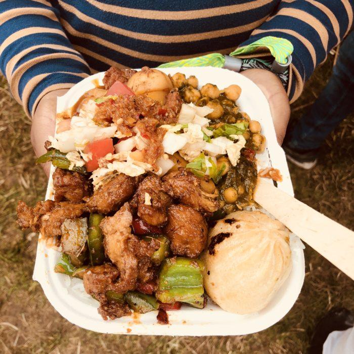 Boomtown Fair 11 Tibetan food stall
