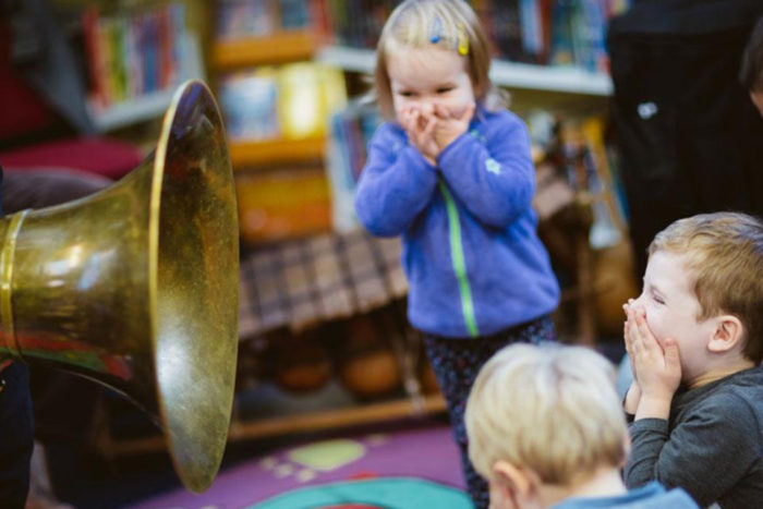 Jazz for toddlers at Kings Place