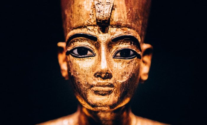Tutankhamun at Saatchi Gallery