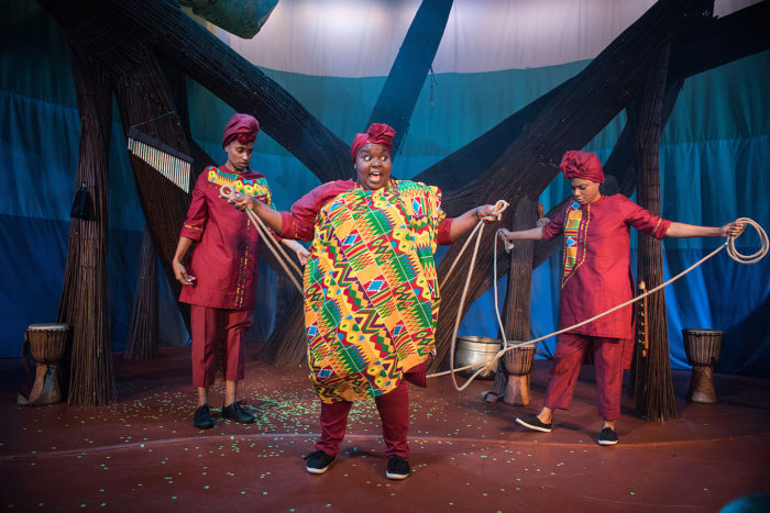 Anansi the Spider at Unicorn Theatre