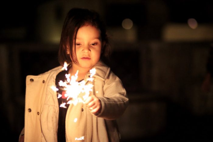 Family friendly fireworks in London