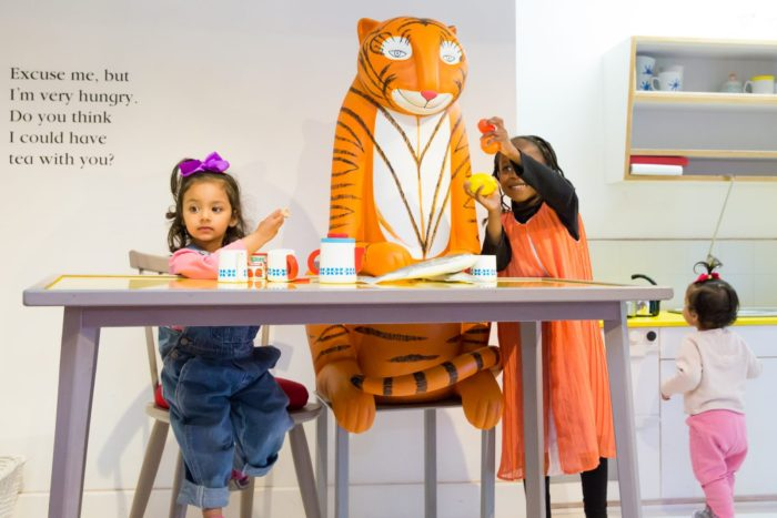 The Tiger Who Came to Teat at Discover Childrens Story Centre