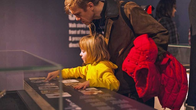 British Library relaxed opening for families