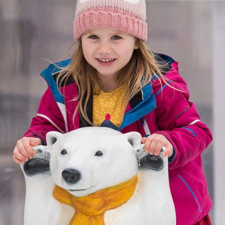 Skate at Somerset House Polar Bear Club