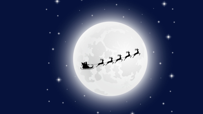 Cellophony the Night before Christmas