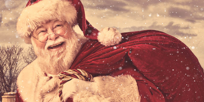 Father Christmas at National Army Museum