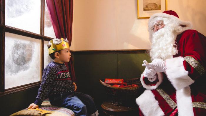 Royal Albert Hall Father Christmas