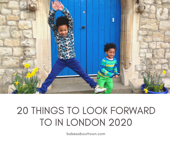 20 things to look forward to in london 2020