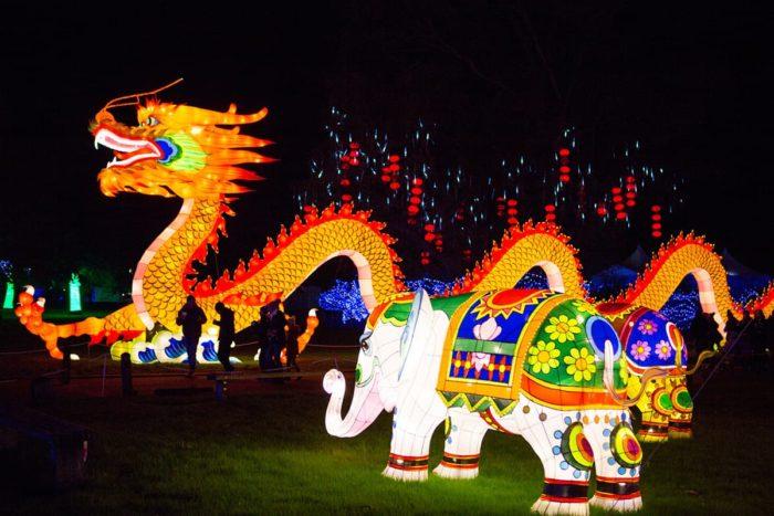 Lightopia lantern festival