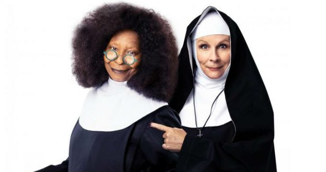 Sister Act the Musical Whoopi Goldberg and Jennifer Saunders