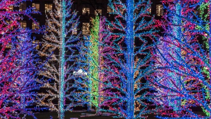 Winter Lights Canary Wharf