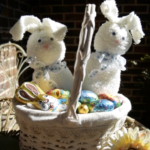 Little Angel Theatre Easter crafts