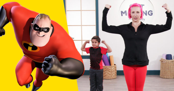 Disney Family Get Moving with The Incredibles