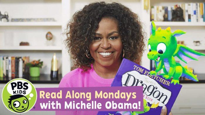 Michelle Obama read along