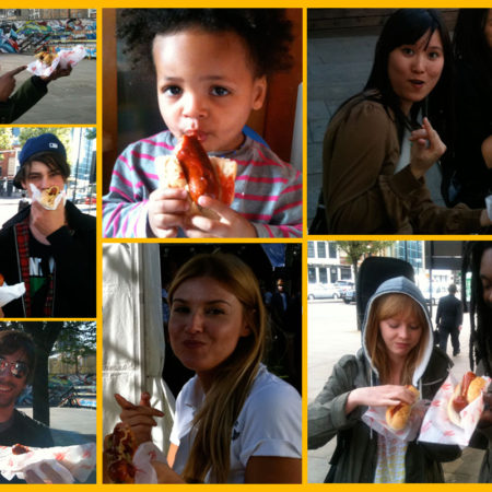 Big Apple Hot Dogs fans