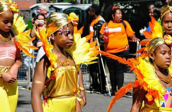Notting Hill Carnival kids