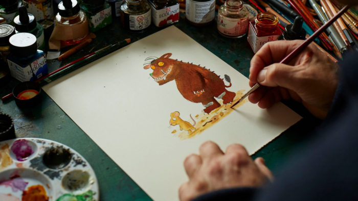 How to Draw a Gruffalo