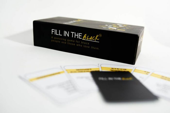 Fill in the Black game