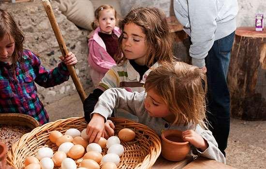 Easter egg hunts English Heritage