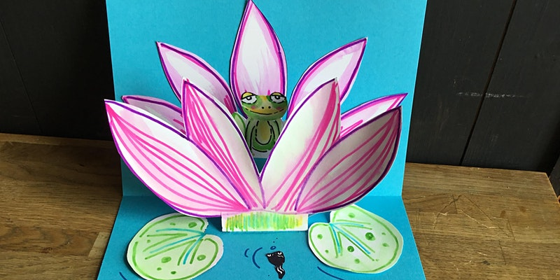 Mothers Day Pop Up Card with Mazy Bartlett