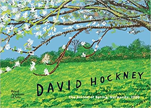 David Hockney spring in Normandy
